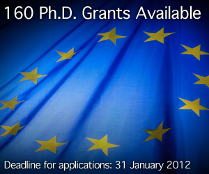 160 Ph.D. Grants Available