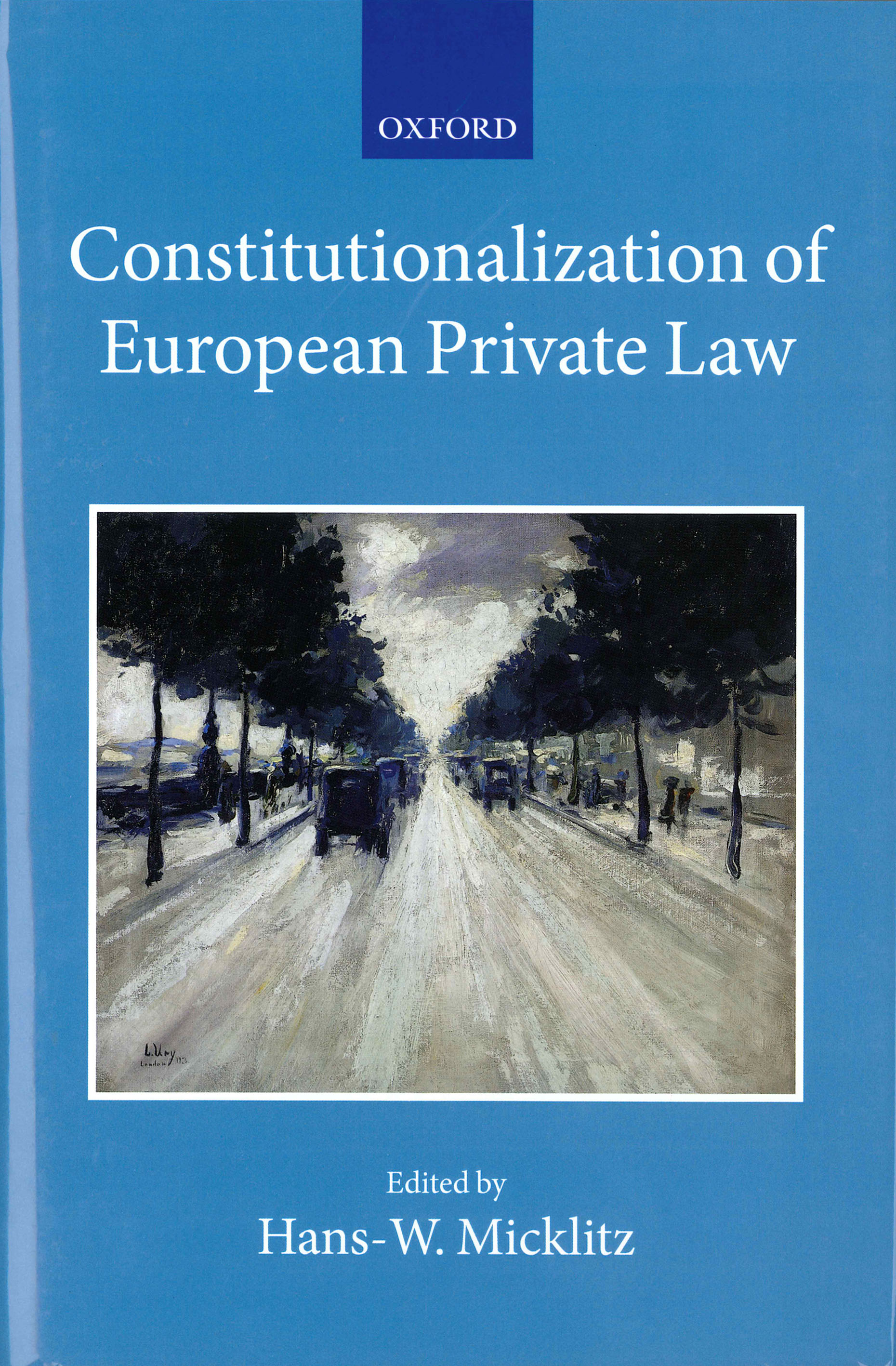 Constitutionalization of European private law