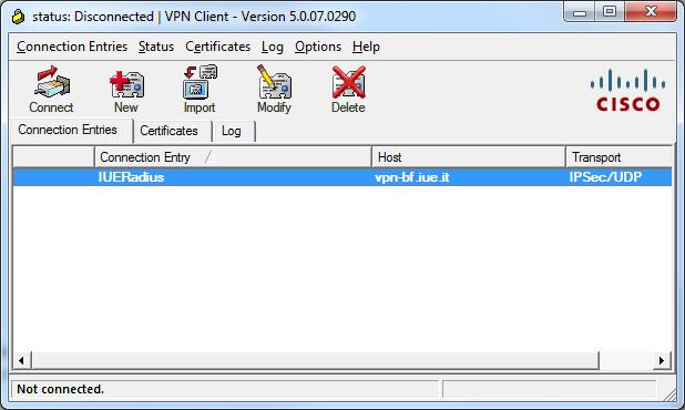 VPN Remote Connection • European University Institute