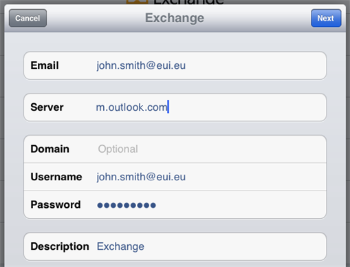 Configuring iOS Devices (iPad, iPhone, etc ) for Use with