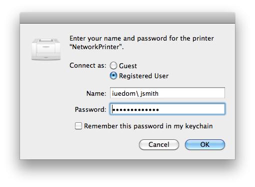 Mac: Updating Keychain Passwords • European University Institute