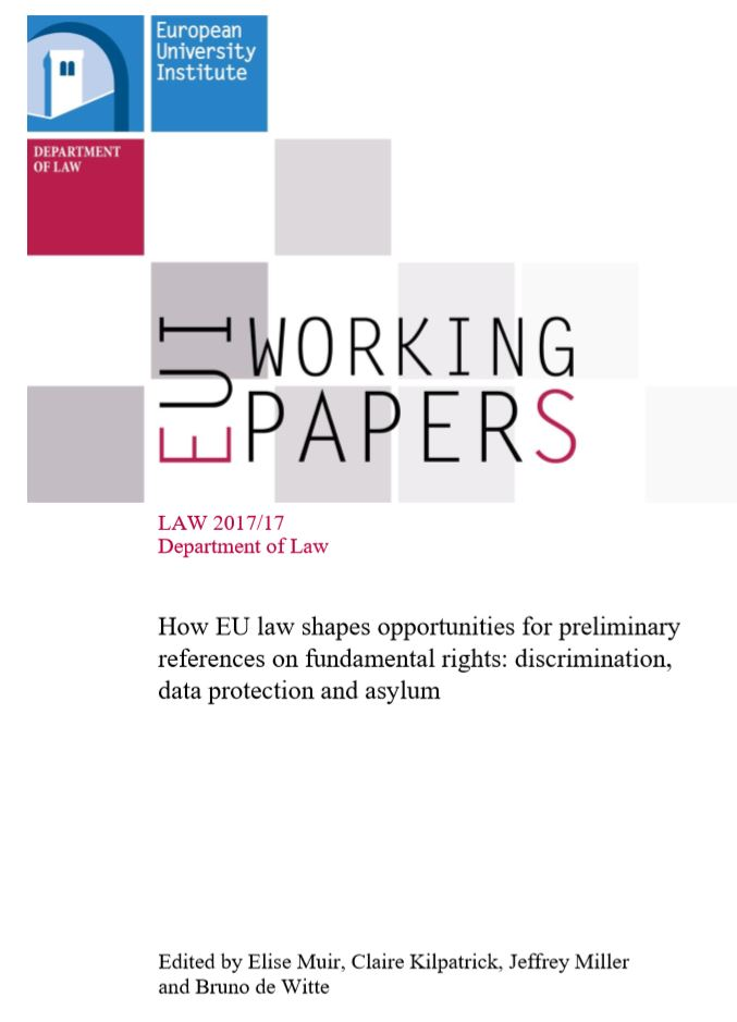 How EU Law Shapes Opportunities for Preliminary References on Fundamental Rights: Discrimination, Data Protection and Asylum