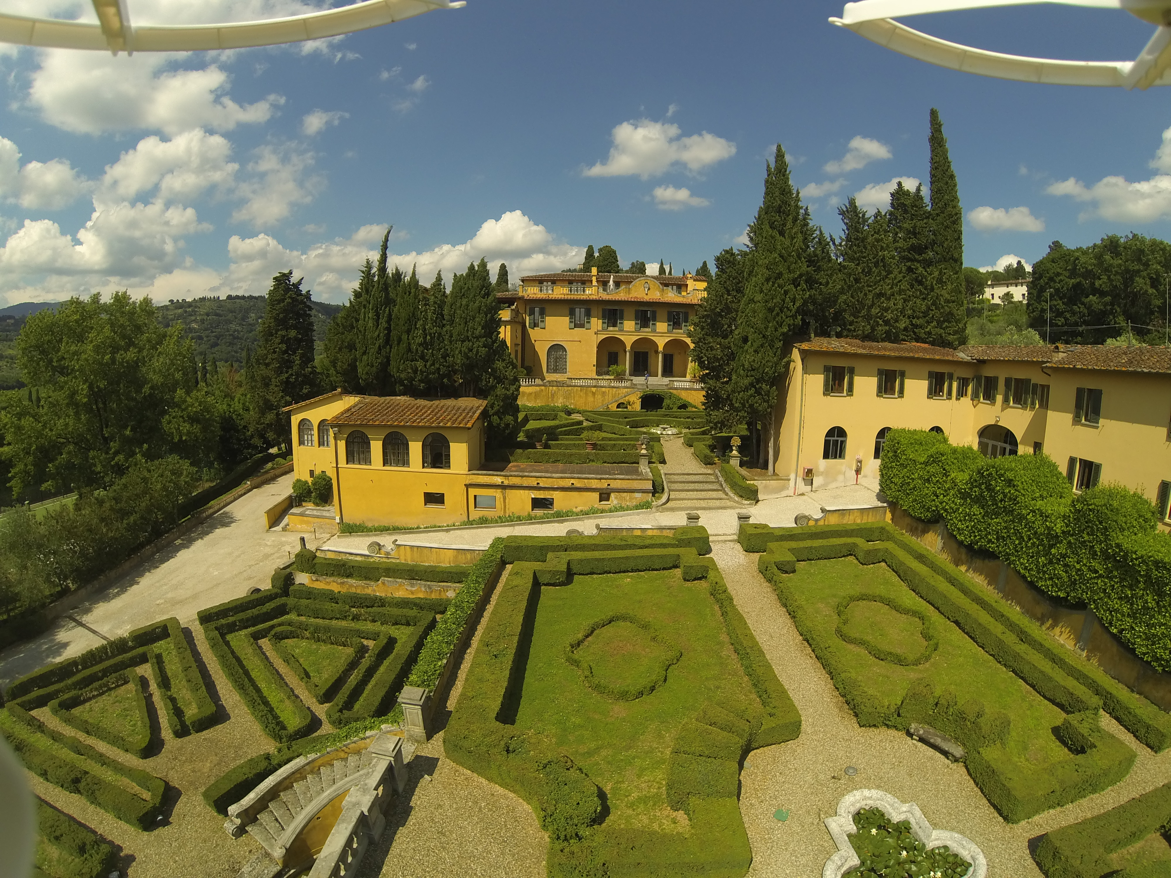 Villa Schifanoia and garden