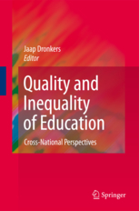 European University Institute - Quality and Inequality of Education