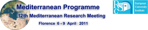 Twelfth Mediterranean Research Meeting 2011