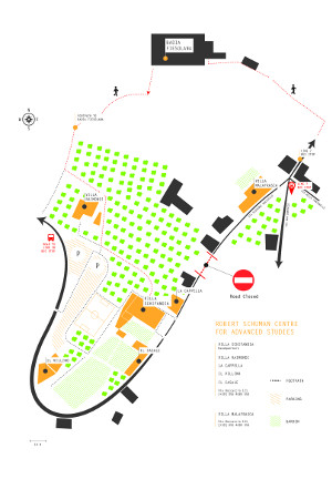RSCAS_Campus_map(2018)-cropped
