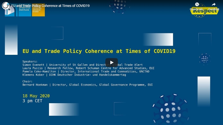 EU Trade policy coherence RESPECT event