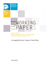 Working Paper RSCAC Leveraging Diversity  Europe's China Policy