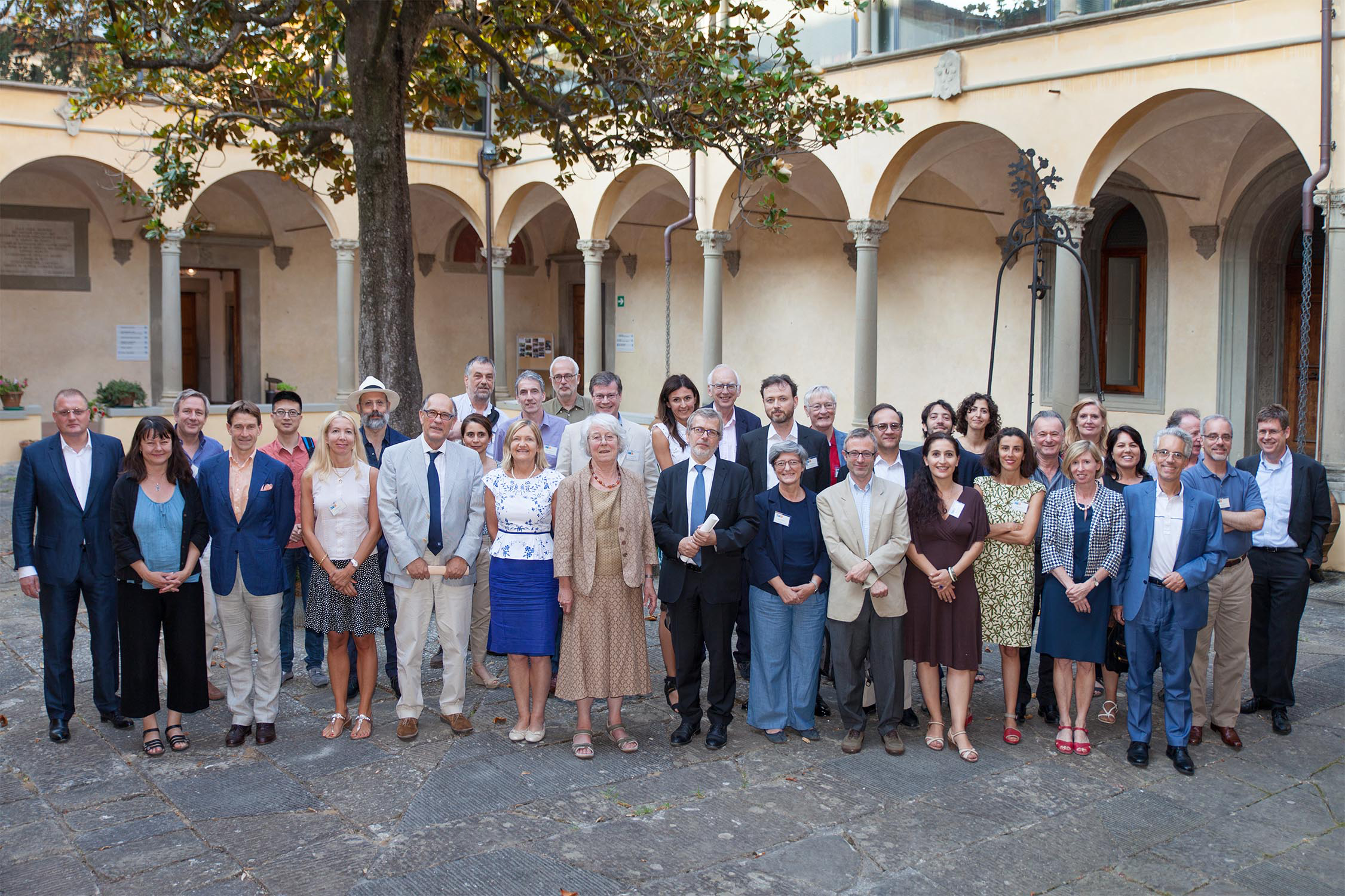 Jean Monnet Fellows gathered at the European University Institute for the 25th anniversary conference on 22 and 23 June 2017
