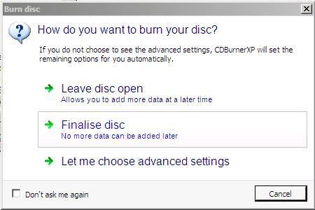 how to use cdburnerxp burn cd
